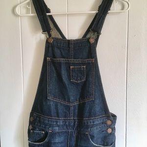 Hollister denim overalls size XS